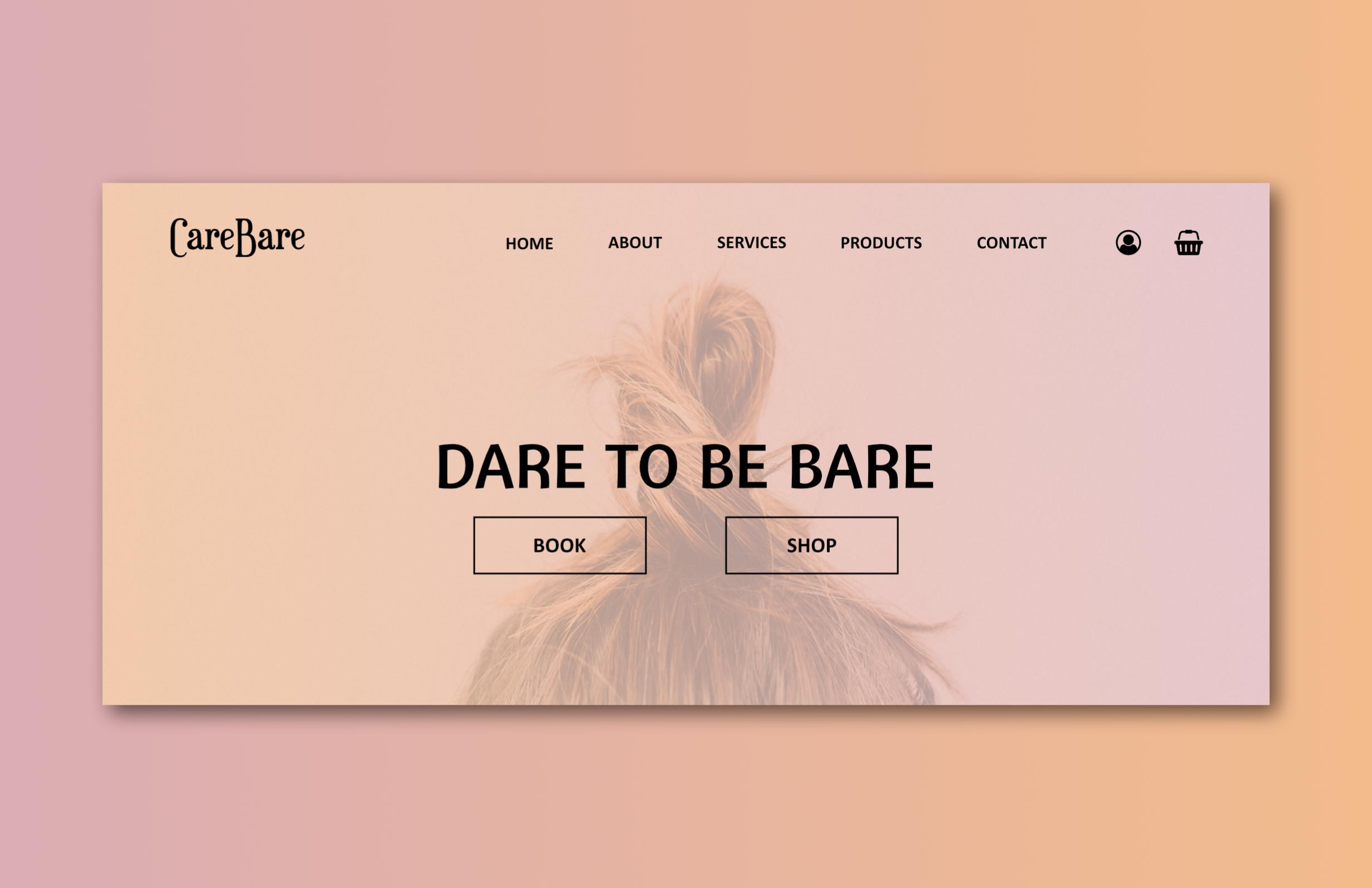 mariedoodle beauty website screenshot